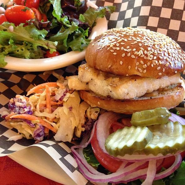 Grilled Mahi Mahi Sandwich @ Elephants Delicatessen