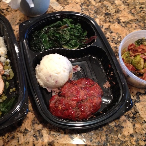 Meatloaf, Swiss Chard And Smashed Potatoes - Chef Michelle Harrison @ Munchery