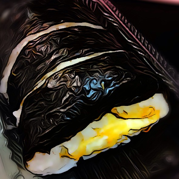 Egg Sushi Roll @ Wasabi Express