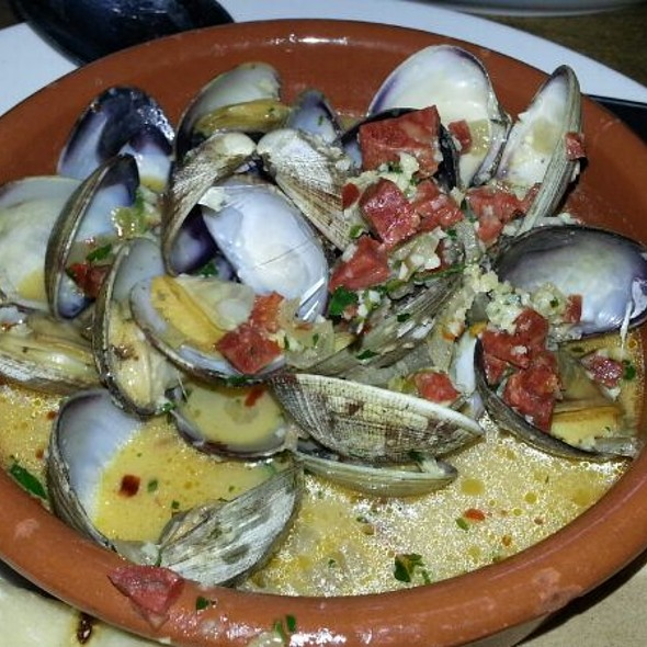 Steamer Clams (with chorizo) - Cha Cha's Latin Kitchen, Brea, CA