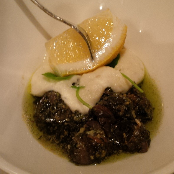 Escargots With Garlic Herb Butter - L'ATELIER - Boulder, Boulder, CO