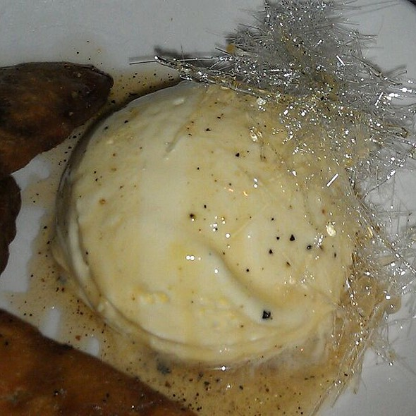 Banana Fritters W/ House Made Vanilla Ice Cream And Sugar Crystals  - Pier W, Cleveland, OH