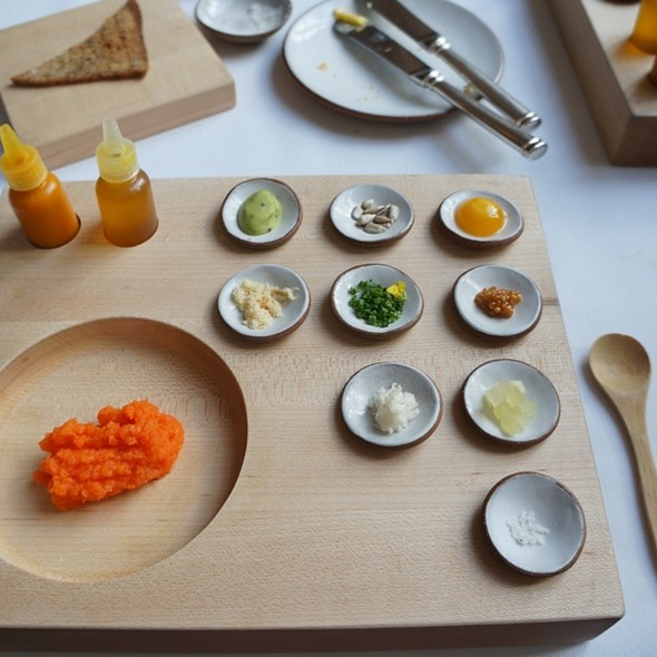 Carrot Tartare @ Eleven Madison Park Restaurant