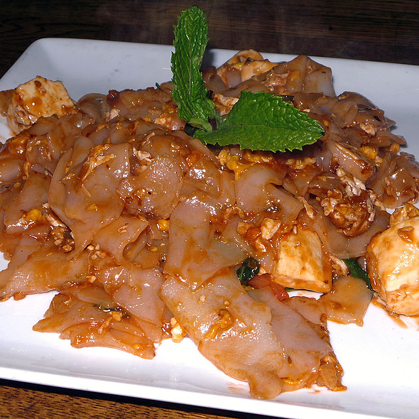 Tofu Pad Kee Mao - Lantern Thai Kitchen, New York, NY