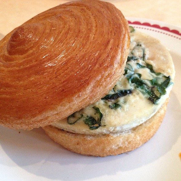 Frittata Sandwich @ La Boulange