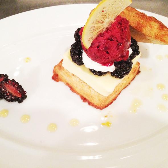 Lemon Blackberry Shortcake @ Spago
