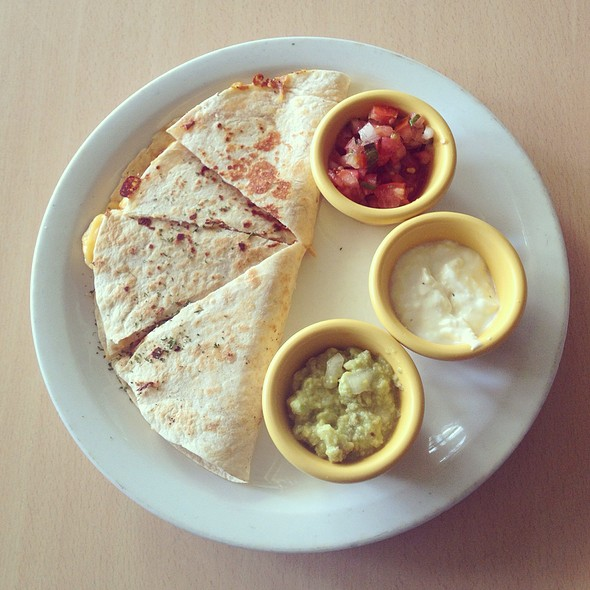 Steak Quesadillas @ Budare Arepas Grill
