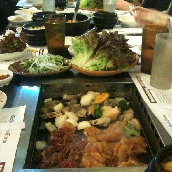 korean barbeque @ Madangsui Korean BBQ