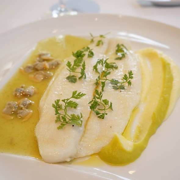 Steamed Flounder @ Nougatine at Jean Georges