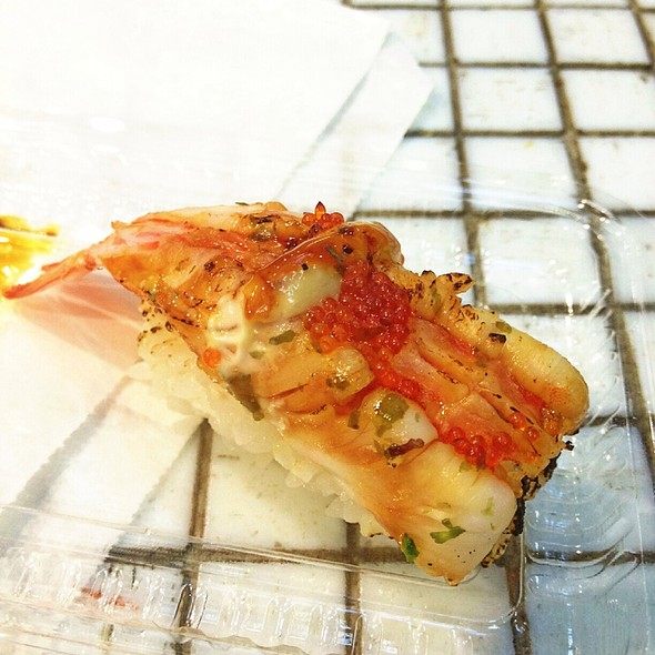 Grilled Teriyaki Prawn Sushi @ Hero Sushi