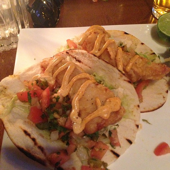 fish tacos @ the swan and firkin