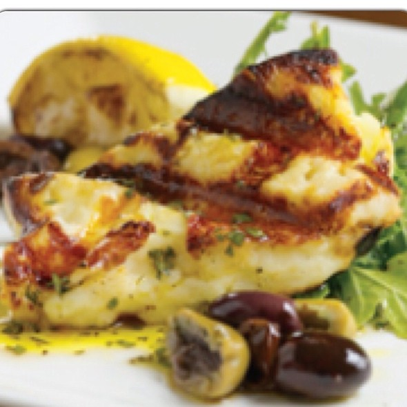 Grilled Halloumi Cheese @ Med Restaurant Chersonissos