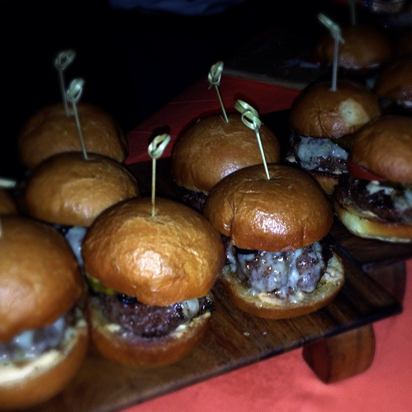 Kobe Beef Sliders - Brand Steakhouse - Monte Carlo, Las Vegas, NV