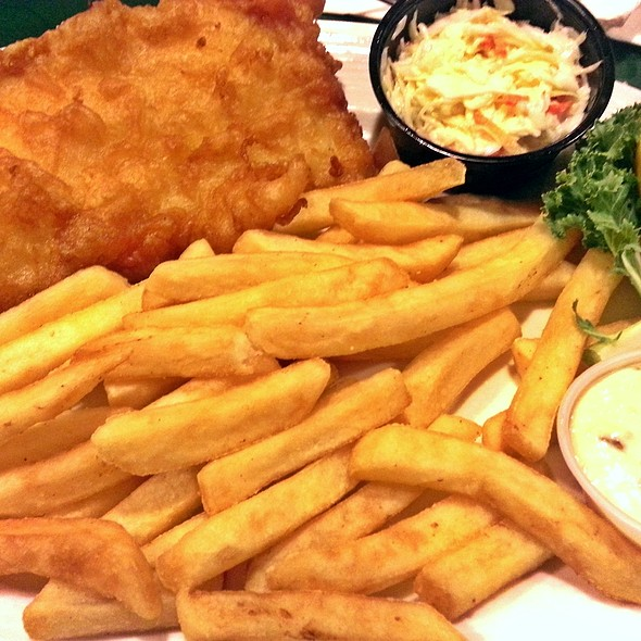 Fish and Chips @ Gregg's Restaurants & Pub