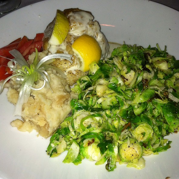 Grouper With Beurre Blanc Sauce - Pattigeorge's Restaurant, Longboat Key, FL