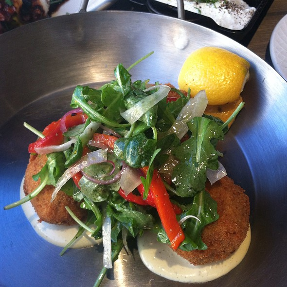 Crabmeat croquette @ MP Taverna, Astoria