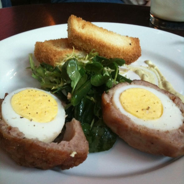 Scotch Eggs @ Rose And Crown Pub