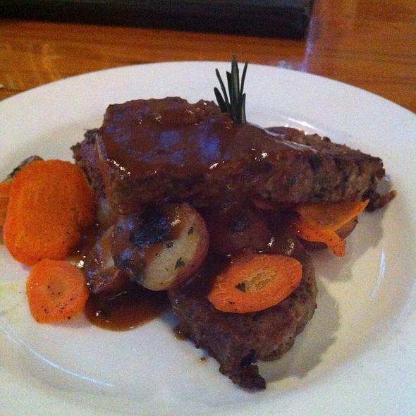 Buffalo & Wild Mushroom Meatloaf