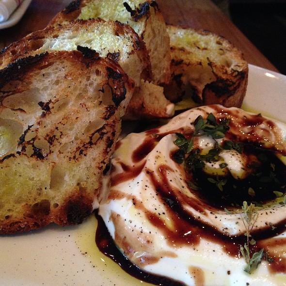Sheep's Milk Ricotta - Barbuzzo Restaurant, Philadelphia, PA