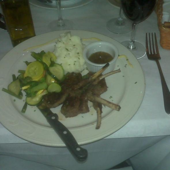 Grilled Lamb Chops - Pascalou, New York, NY