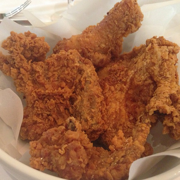 fried chicken - The Olde Pink House Restaurant, Savannah, GA