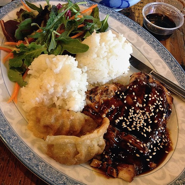 Chicken Breast Teriyaki @ Glaze Teriyaki Grill