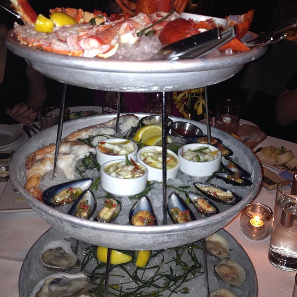 Seafood Tower Three Tiers - Atlantic Grill Near Lincoln Center, New York, NY
