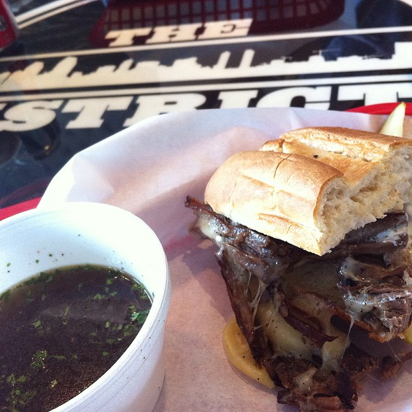 District Dip Sandwich @ The District
