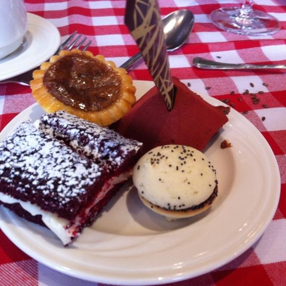 highwood dining room @ sait - dessert selection from buffet