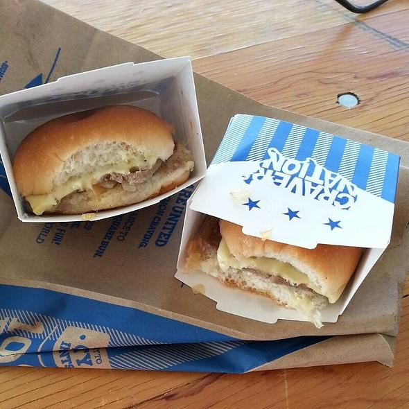 White Castle Cheeseburgers  @ Las Vegas Foodie Fest