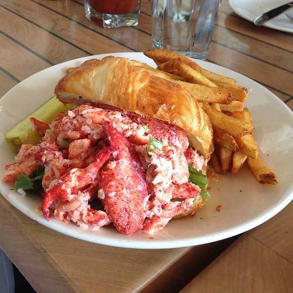 Lobster Croissant - The Mooring Restaurant, Newport, RI