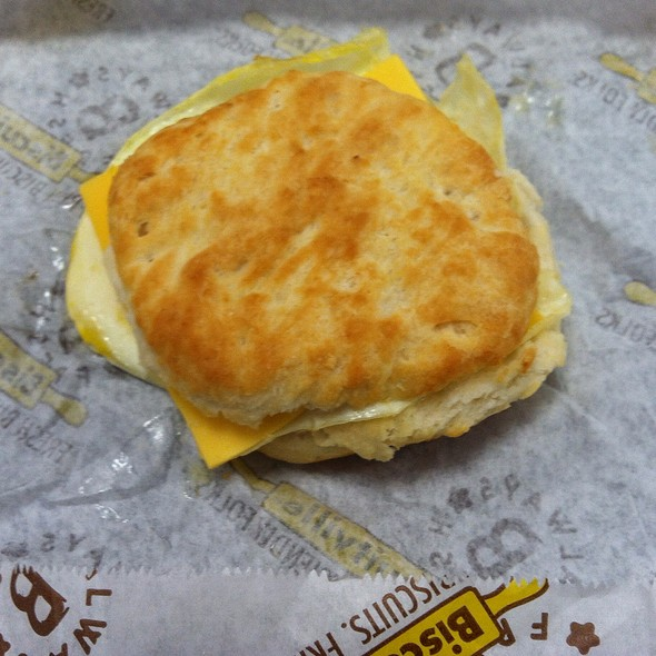 Egg And Cheese Biscuit @ Biscuitville