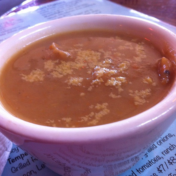 Potato And Celery Soup @ End Of The Line Cafe
