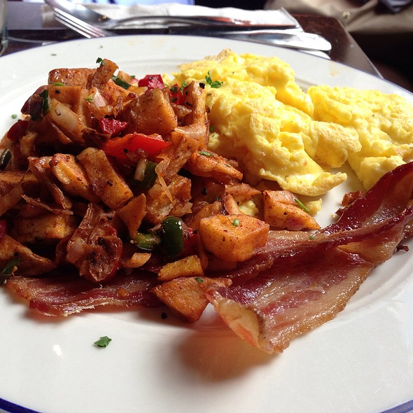 Eggs, Bacon, Home Fries - Commissary DC, Washington, DC