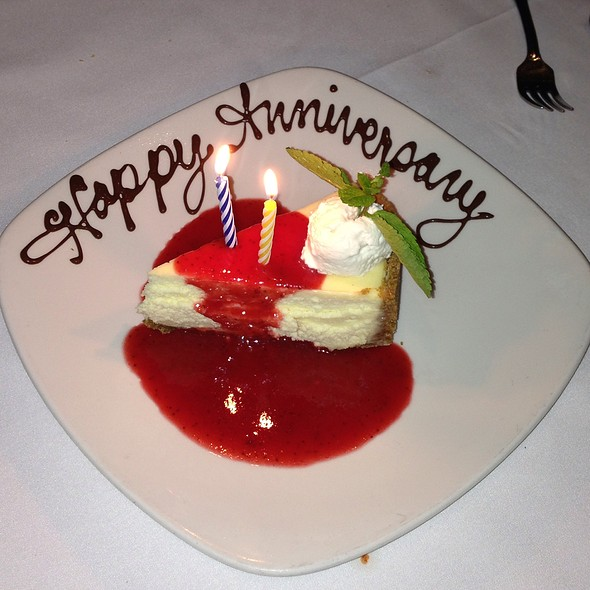 Cheesecake - Chart House Restaurant - Weehawken, Weehawken, NJ