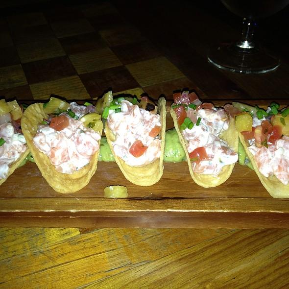 Salmon Tartar Tacos - Driskill Grill - Driskill Hotel, Austin, TX
