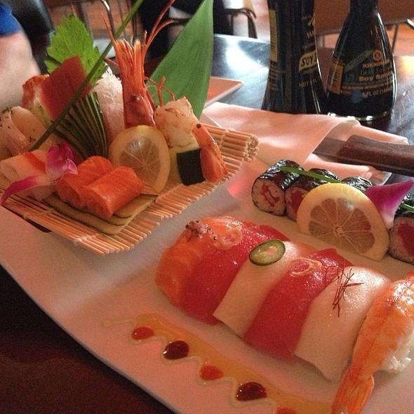 Sushi Sashimi Combo @ Saketumi Restaurant