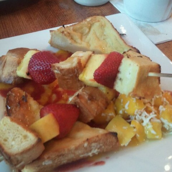 French Toast Kabob @ Orange Brunch