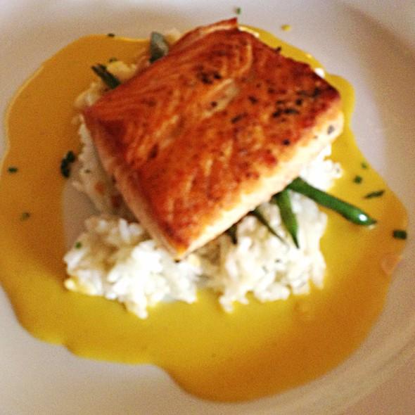 Salmon Filet - Waterzooi Belgian Bistro, Garden City, NY