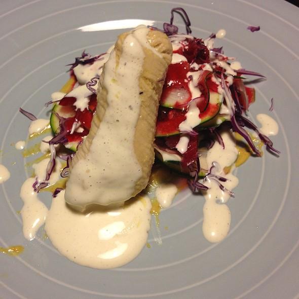 Turkeycheeserroll On  Iced Salad @ Kalika's