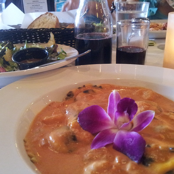 Lobster Ravioli - Iozzo's Garden of Italy, Indianapolis, IN