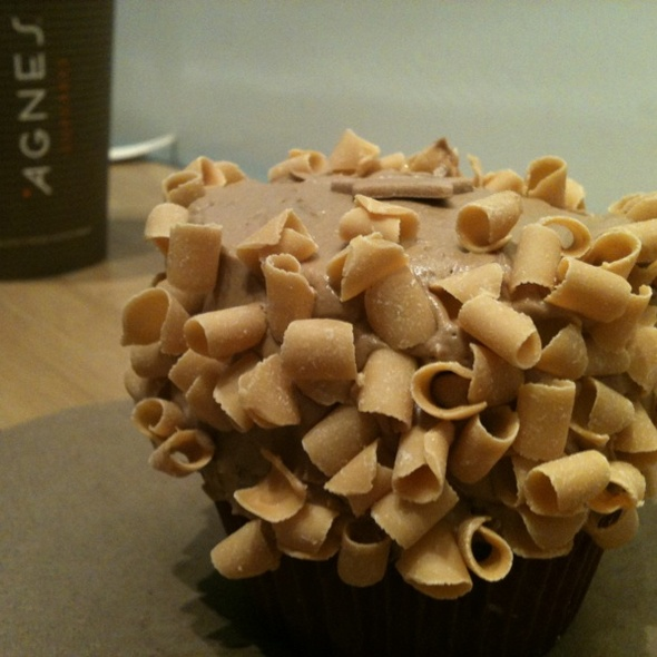 Milk Chocolate Cupcake @ Agnes Cupcakes