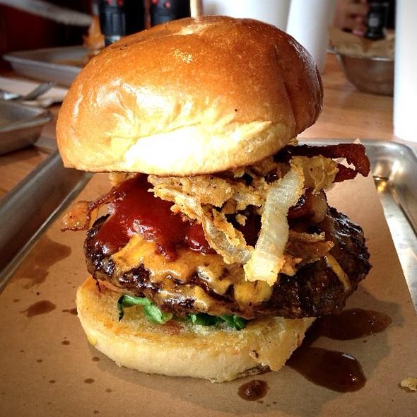 Haystack Burger @ Haystack Burgers & Barley