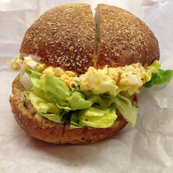 deviled egg sandwich @ Golden West