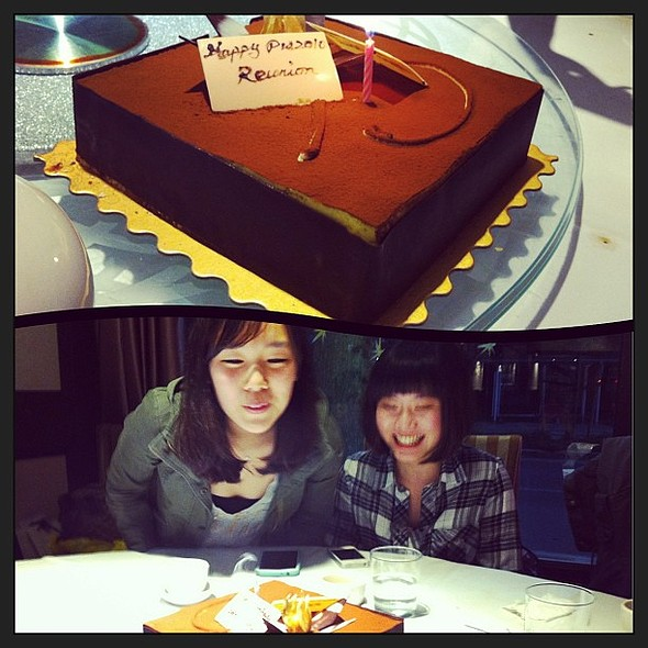 PW Grad 2010 mini reunion & April bdays! @ Bamboo Grove Restaurant