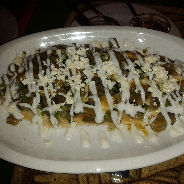 Nopal Salad @ El Chaparrito