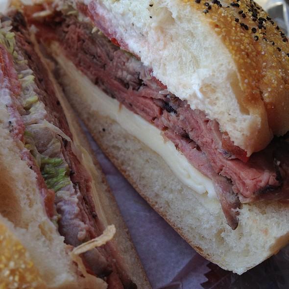 Roast Beef Sandwich @ Sportsman's Deli