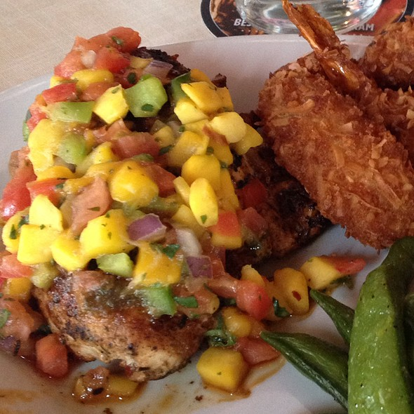 Caribbean Chicken @ Ruby Tuesday of Stroudsburg Route 611