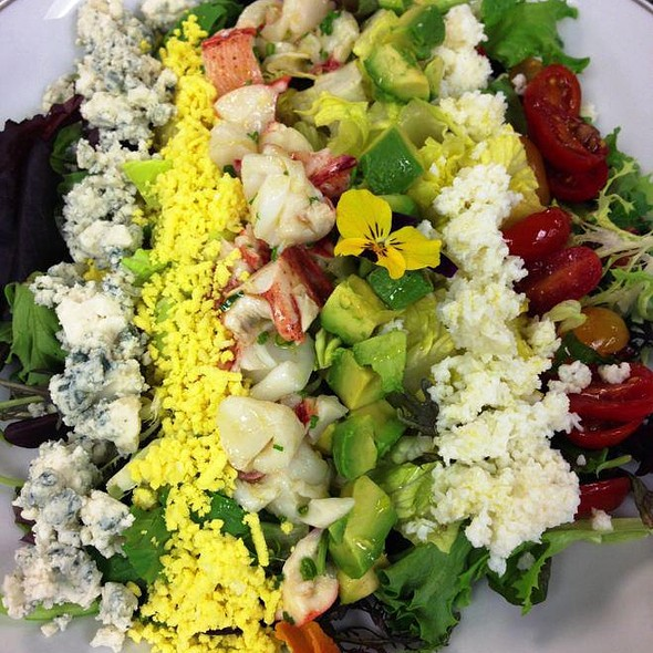 Lobster Cobb Salad @ Wolfgang Puck at Hotel Bel-Air