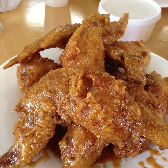 Korean Fried Chicken Wings @ Soo Cafe